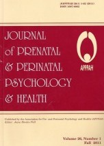 Journal of Prenatal and Perinatal Psychology and Health
