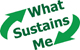 What sustains me logo